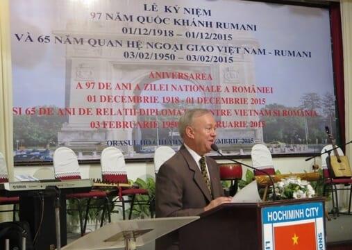 Lễ kỷ niệmngày thiết lậpquan hệngoại giaoViệt Nam-Ru-ma-ni