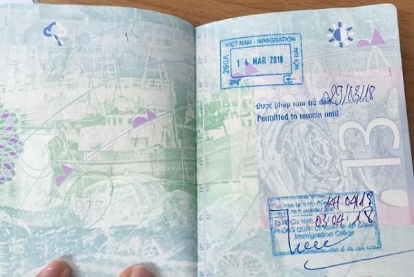 Vietnam Exit Visa