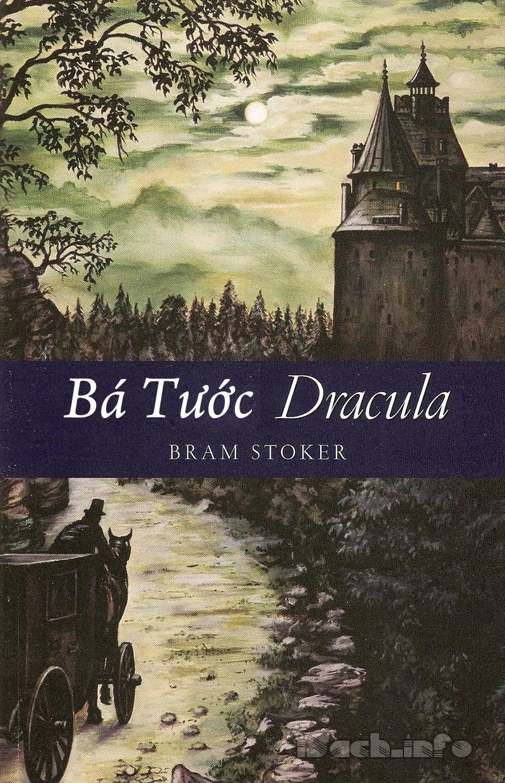 """Cuốn tiểu thuyết nổi tiếng của ông """"Dracula"""" - Tác giả Bram Stocker"""