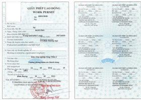 Để xin giấy phép lao động cho người nước ngoài, cần có phiếu lý lịch tư pháp