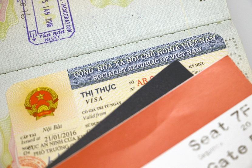 Vietnamese-visa-sticker-in-a-passport