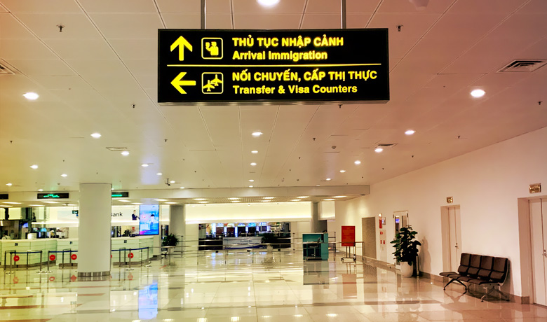 When you land at Hanoi airport, you will see a sign for transfer or visa counters. If you hold a passport with visa-free entry or already have an advance visa, you can go straight to the Arrival Immigration, otherwise you need to turn left for the visa on arrival counters.