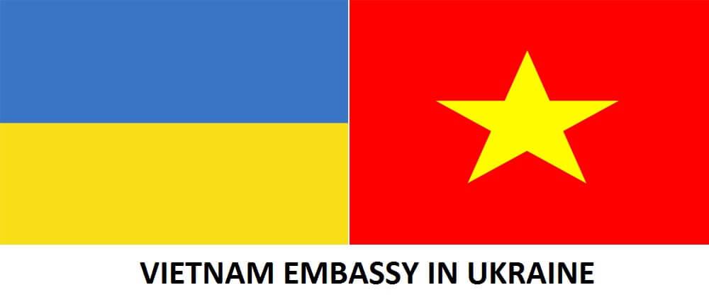 Address of Vietnam Embassy in Ukraine - Посольство В'єтнаму в Україні