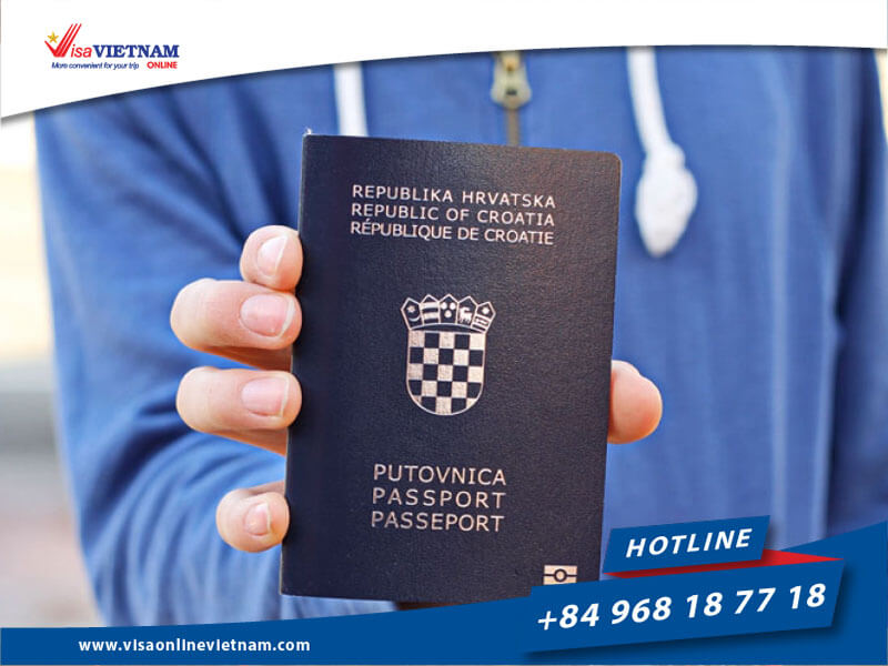 Vietnam visa requirements for Croatia citizens