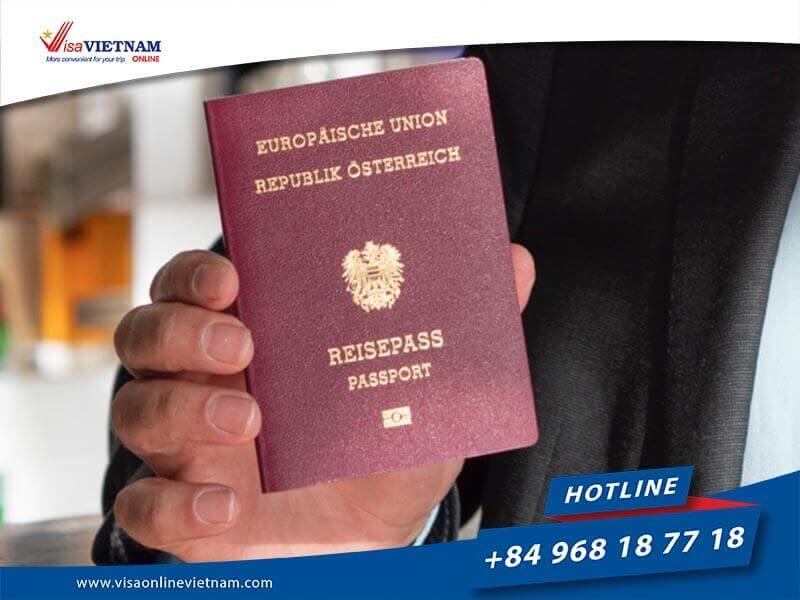 How to get Vietnam visa on arrival in Austria? - Vietnam Visum bei der Ankunft