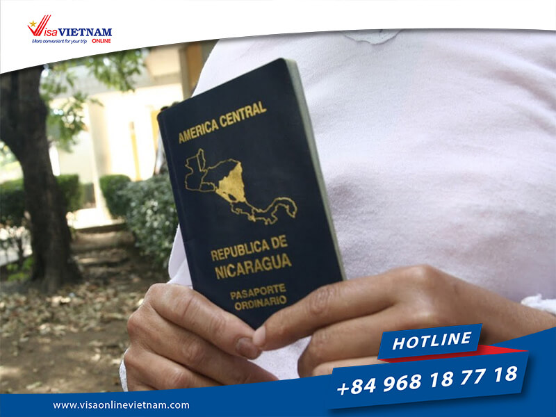 Requirements of Vietnam visa from Nicaragua