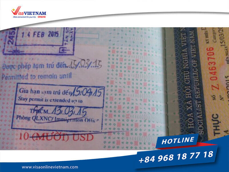 Vietnam visa extension for Russian citizens - Продление визы во Вьетнам