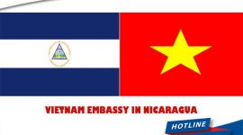 What is the address of Vietnam Embassy in Nicaragua?