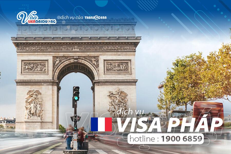 thủ tục xin visa đi Pháp thăm thân